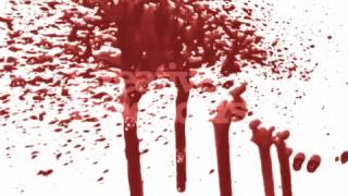 BLOOD DROPS   Stock Video Footage   28 Visual FX Clips SD