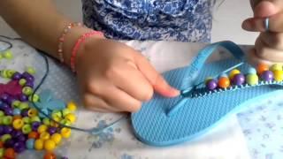 getlinkyoutube.com-Como decorar sandalias