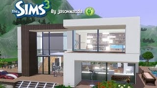 getlinkyoutube.com-The Sims 3 House Designs - Modern Villa