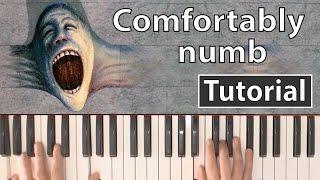 """getlinkyoutube.com-Como tocar """"Comfortably numb""""(Pink Floyd) - Piano tutorial y partitura"""
