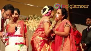 getlinkyoutube.com-Malayalam Actress Muktha Wedding Reception