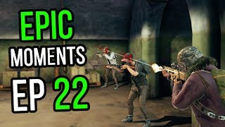 PUBG: Epic & Lucky Moments Ep. 22