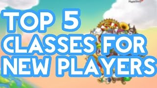 Maplestory - Top 5 Classes For New Players [2015]