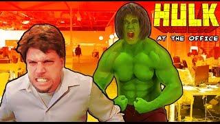 getlinkyoutube.com-Hulk at the Office