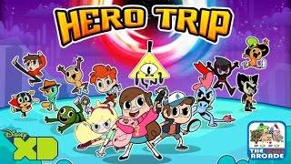 getlinkyoutube.com-Disney XD Hero Trip - All of the Disney XD Universes Have Collided (iPad Gameplay)