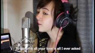 getlinkyoutube.com-Bruno Mars - Grenade Lyrics cover by Jannina W
