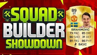 getlinkyoutube.com-FIFA 16 SQUAD BUILDER SHOWDOWN!!! MAN UNITED IBRAHIMOVIC!!! Transfers Zlatan Squad Builder Duel
