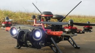 getlinkyoutube.com-Квадрокоптер 250 размера Walkera Runner 250 Advance с GPS ... Распаковка, полеты