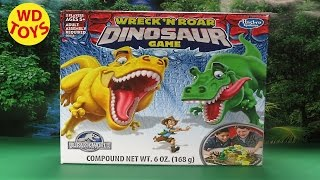 getlinkyoutube.com-New Wreck N Roar Dinosaur Game Jurassic World 2015 By WD Toys