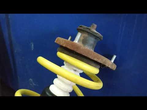 Замена пружины на стойках! Классная приспособления