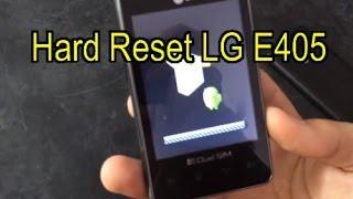 getlinkyoutube.com-Hard Reset LG L3 E405