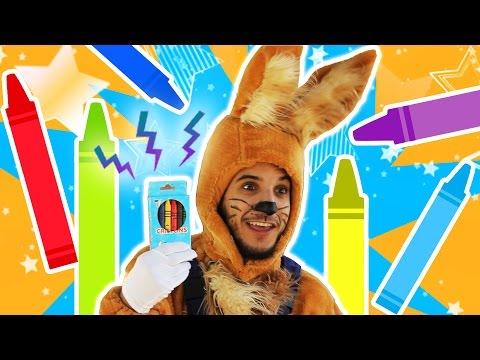 نطنط نهار وأرنوب الحبوب | سحر مع أرنوب - تلاوين | Magic color box