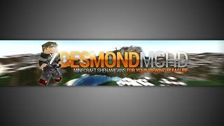 getlinkyoutube.com-gimp | minecraft youtube banner template [NO PHOTOSHOP]