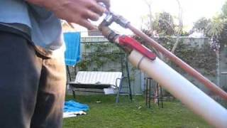 getlinkyoutube.com-Homemade PVC + Metal Airgun