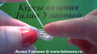 getlinkyoutube.com-Воротник Белый - вязание крючком