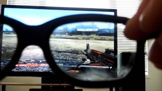 How to make 3D tv split screen video games full screen without ps3 tv