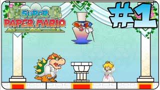 getlinkyoutube.com-Super Paper Mario Walkthrough Part 1 Prologue
