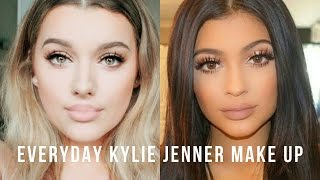 getlinkyoutube.com-Everyday Kylie Jenner Inspired Make up tutorial! | Rachel Leary