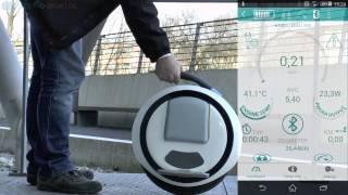 getlinkyoutube.com-Ninebot One E Test Deutsch DE/EN/ES/RU  http://www.electro-sport.de/
