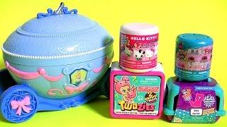 getlinkyoutube.com-Brinquedos Surpresa Princesa Cinderela Twozies Baby Mashems Fashems Frozen em Portugues Brasil Toys