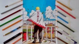 getlinkyoutube.com-Speed Drawing - Naruto Uzumaki Hokage
