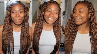 getlinkyoutube.com-How To: BOX BRAIDS Tutorial