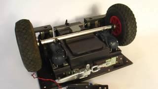 Bollerwagen Antrieb 12V - Bosch Akkuschrauber