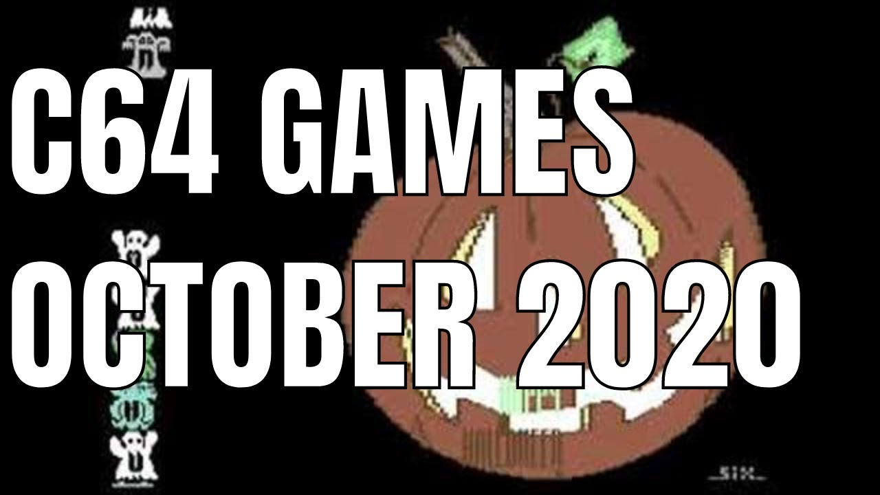 C64 October 2020 Games