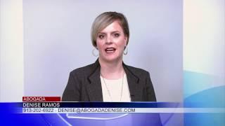 Entrevista Abogada Denise Ramos – Univision Kansas City - 28 de noviembre.