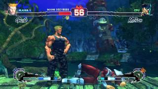 Ultra Street Fighter IV Battle: Guile Vs M. Bison