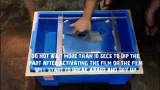AMC Water Transfer Printing with DIY Kit (Hydrographics)