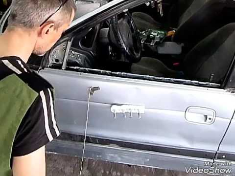 Где кран отопителя у Хонда Mobilio