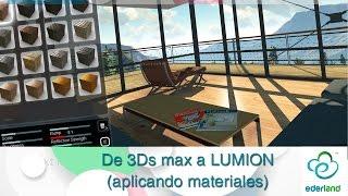 getlinkyoutube.com-De 3ds Max  a Lumion ( aplicando materiales )