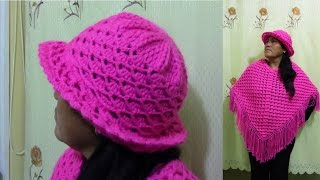 getlinkyoutube.com-Sombrero tejido a crochet paso a paso - TEJIDOS OLGA HUAMAN