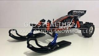 getlinkyoutube.com-Traxxas Bandit Snowmobile Ready