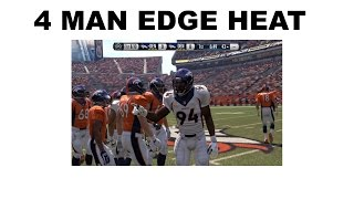 getlinkyoutube.com-4 MAN EDGE HEAT! Dime 1-4-6 Edge Heat! Madden 16 Defensive Tips