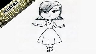 getlinkyoutube.com-Como dibujar a Desagrado de Intensamente Insideout - ILUSTRA SHOW