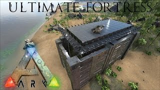 getlinkyoutube.com-Ark: Survival Evolved - Ultimate Defensive Fortress