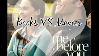 BOOKS VS MOVIES  #2 [ME BEFORE YOU]
