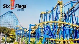 getlinkyoutube.com-Los Mejores Juegos de Six Flags México 2015