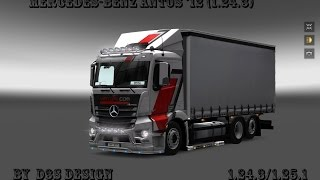 getlinkyoutube.com-Mercedes-Benz Antos '12 (1.24.3) (1.část)