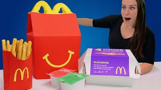 DIY GIANT HAPPY MEAL 🙂 - RIP TOYS R US width=