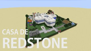 Casa de Redstone 100 mecanismos/ House of Redstone 100 mechanisms [1.8]