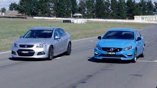 getlinkyoutube.com-2015 HSV Senator vs Volvo S60 Polestar: Drag race