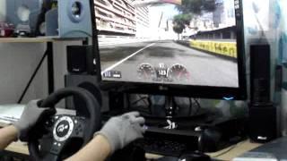 getlinkyoutube.com-Logitech Driving force pro test with GT5