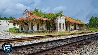 getlinkyoutube.com-Mission Revival Railroad Depot Time-lapse
