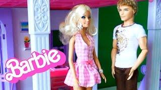 getlinkyoutube.com-Барби Потерялся щенок, знакомство с Кеном серия 19 Приключения Барби на русском