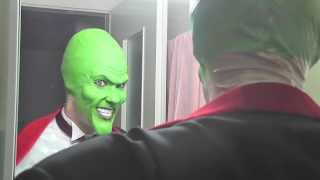 getlinkyoutube.com-The Mask tornado test make up