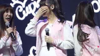 150420 OH MY GIRL 데뷔 쇼케이스 - 멤버들의 고향은?