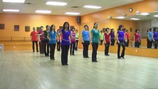 getlinkyoutube.com-Have You Ever Seen The Rain - Line Dance (Dance & Teach in English & 中文)